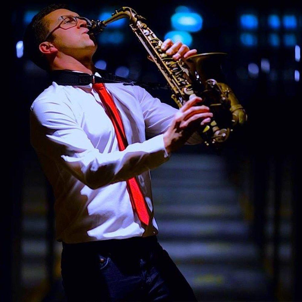 wedding sax player
