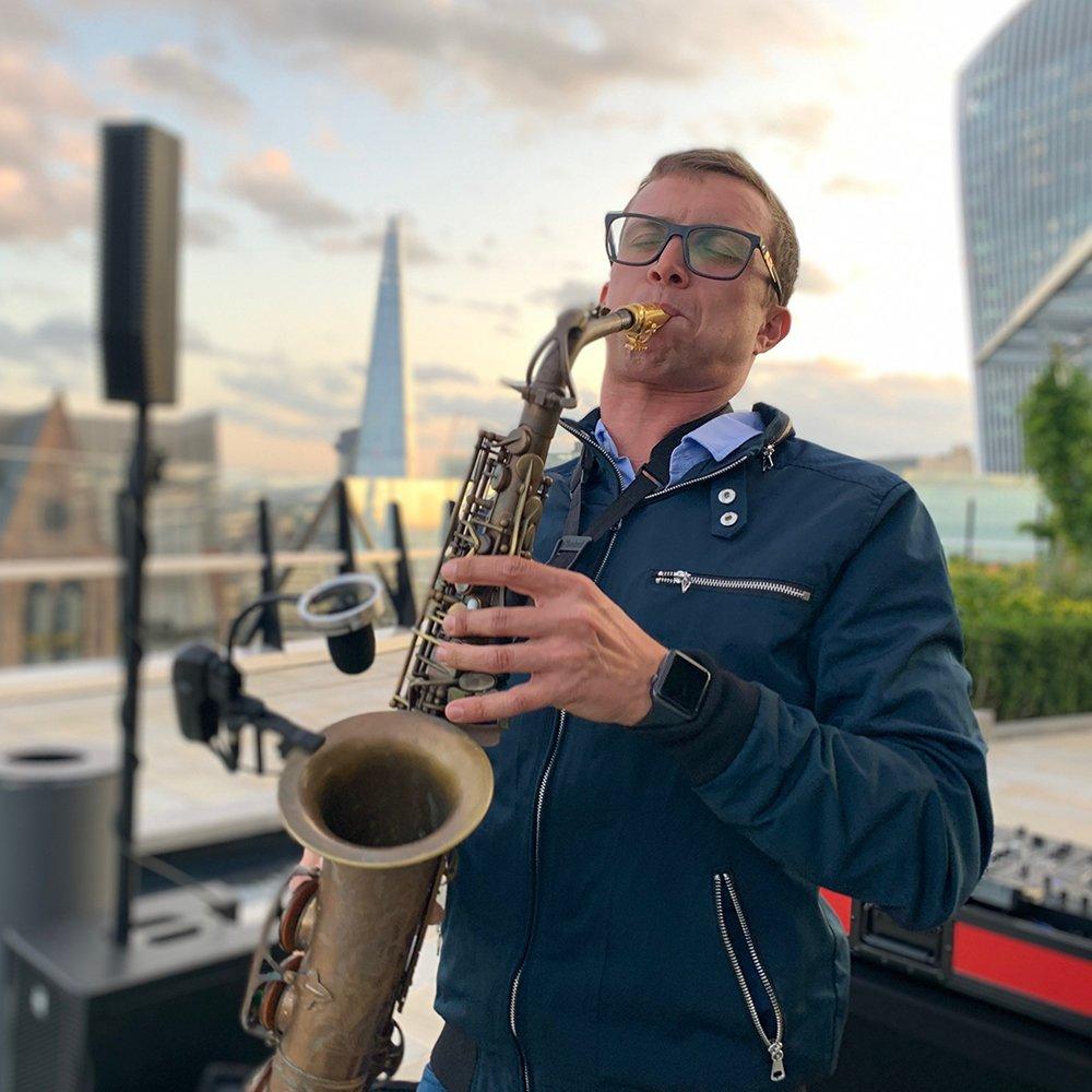 essex saxophone player