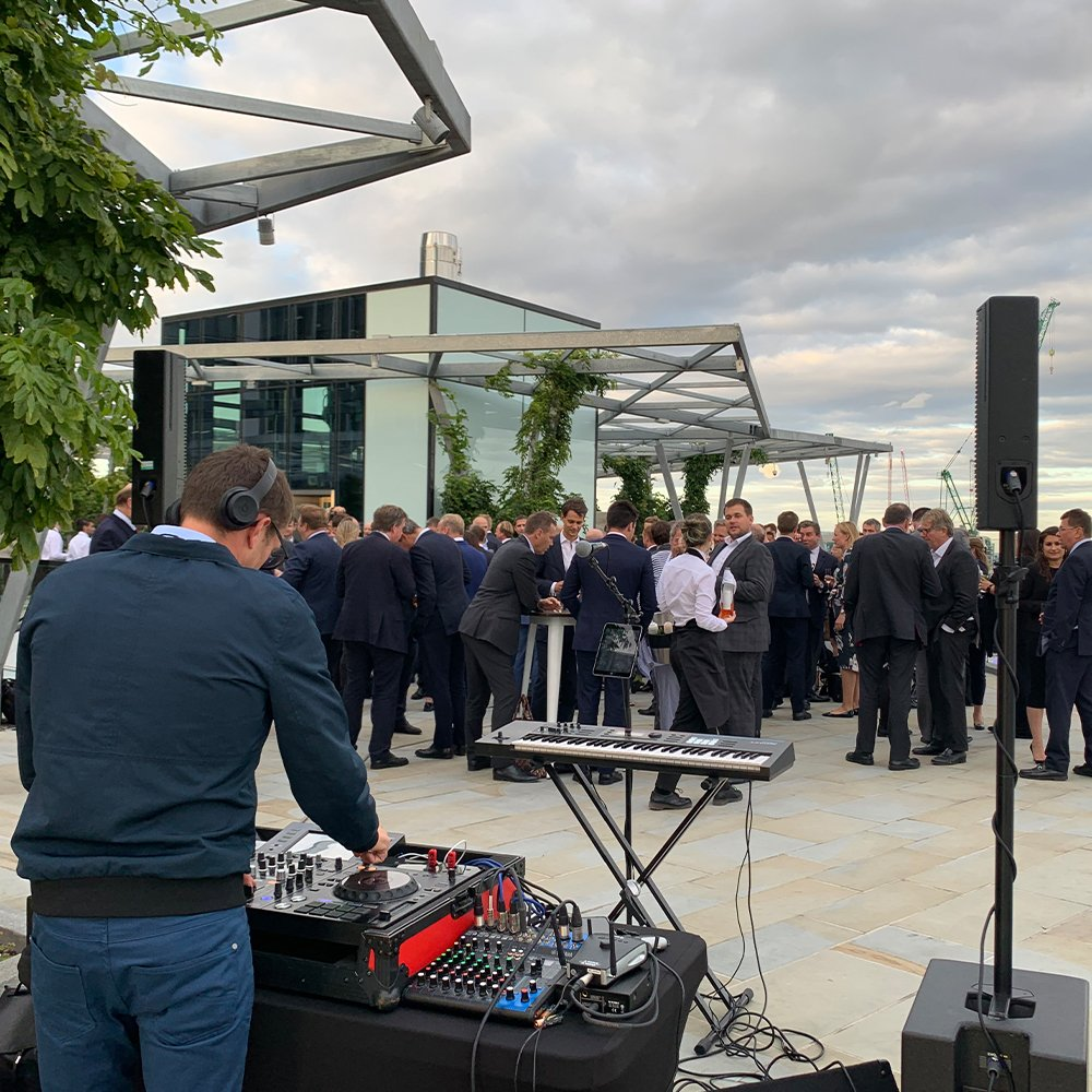 London corporate DJ for hire