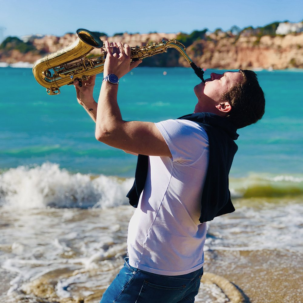 monaco saxophone player