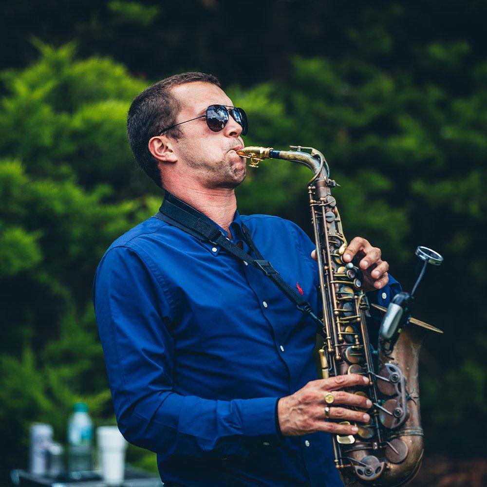 saxophone private event hire